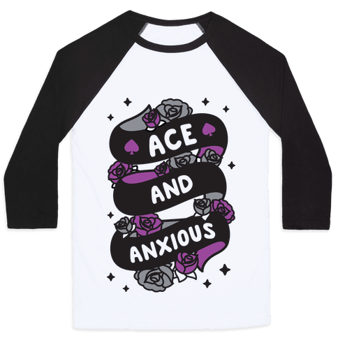 Ace And Anxious Baseball Tee