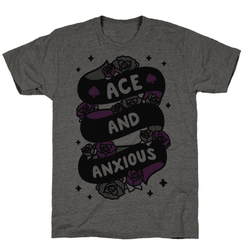 Ace And Anxious Mens T-Shirt