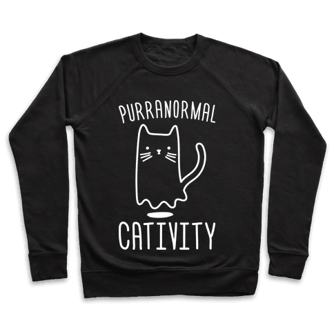 Purranormal Cativity (White) Pullover