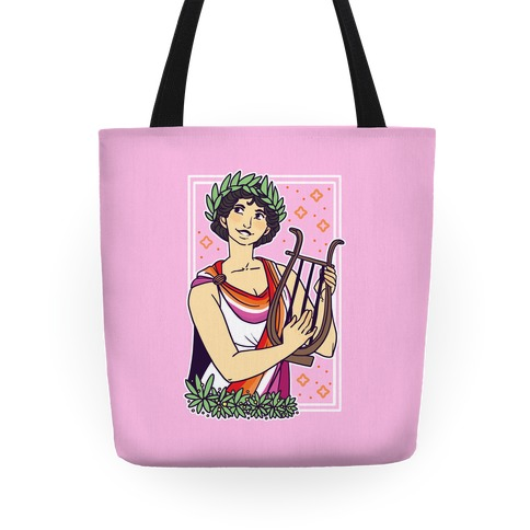Sappho, Our Lady of Lesbians Tote