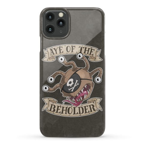 Aye Of The Beholder Phone Case