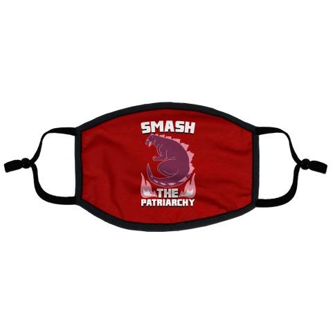 Smash the Patriarchy - Godzilla Flat Face Mask