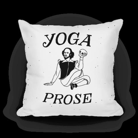 Yoga Prose Pillow