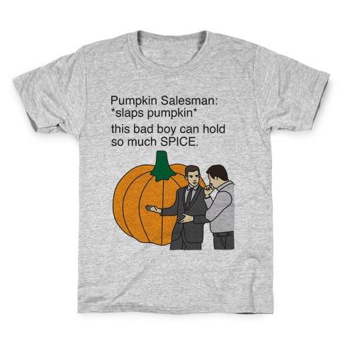 Pumpkin Salesman Kids T-Shirt