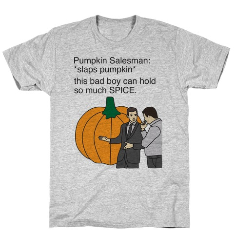 Pumpkin Salesman T-Shirt