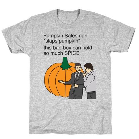 Pumpkin Salesman T-Shirt
