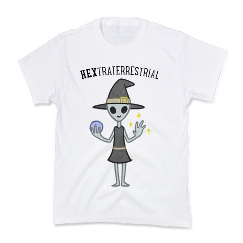 HEXtraterrestrial Kids T-Shirt