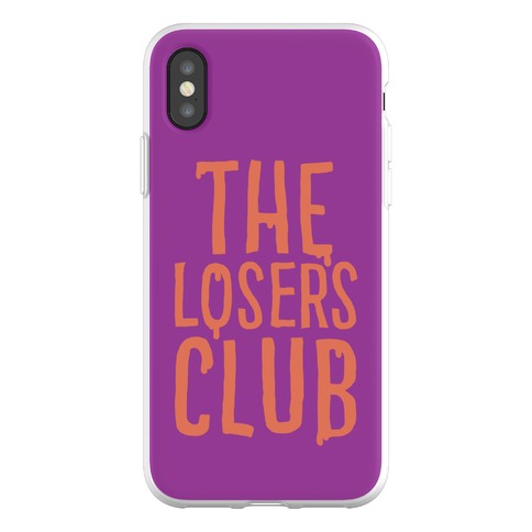 The Losers Club Parody Phone Flexi-Case