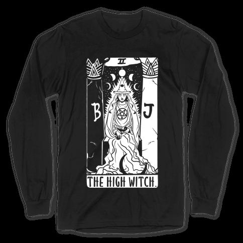 The High Witch Tarot Long Sleeve T-Shirt