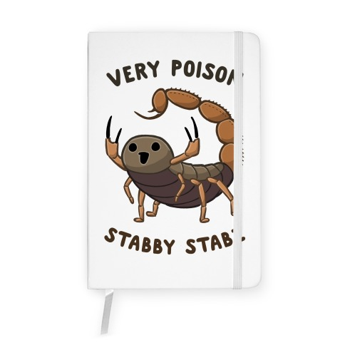 Very Poison Stabby Stabz Notebook