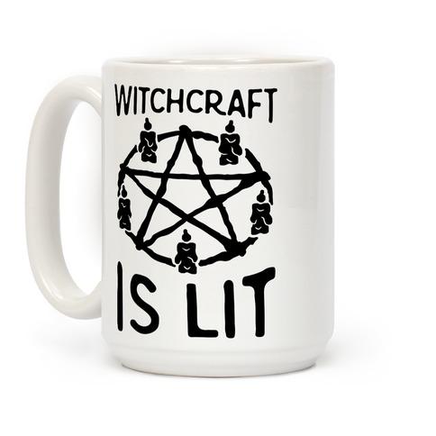 Witchcraft Is Lit Coffee Mug