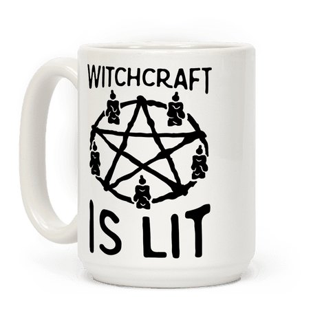 Witchcraft Is Lit Coffee Mug