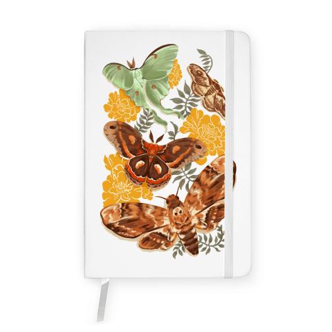 Moths & Marigolds Notebook