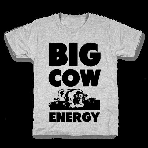 Big Cow Energy Kids T-Shirt