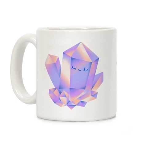 Happy Healing Crystal Coffee Mug