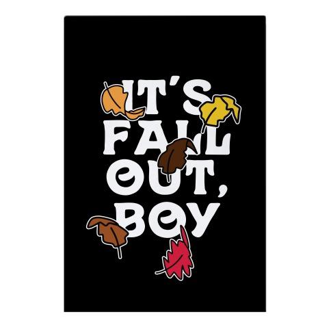 It's Fall Out, Boy Garden Flag