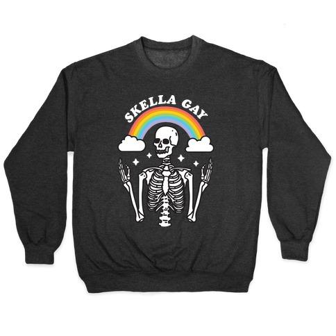 Skella Gay Skeleton Pullover