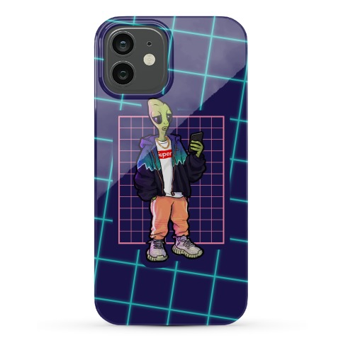 Hypebeast Alien Phone Case