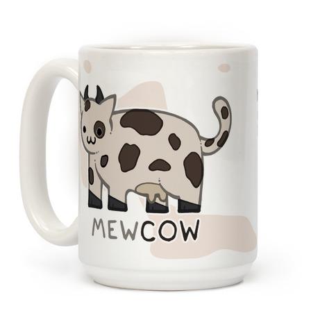 Mew Cow Coffee Mug