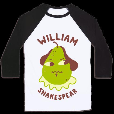 William ShakesPear Baseball Tee