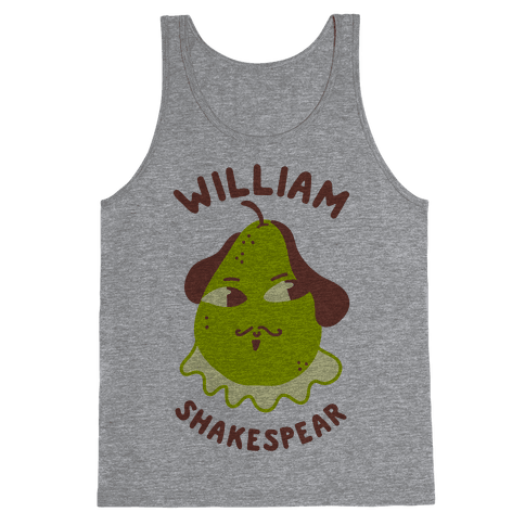 William ShakesPear Tank Top