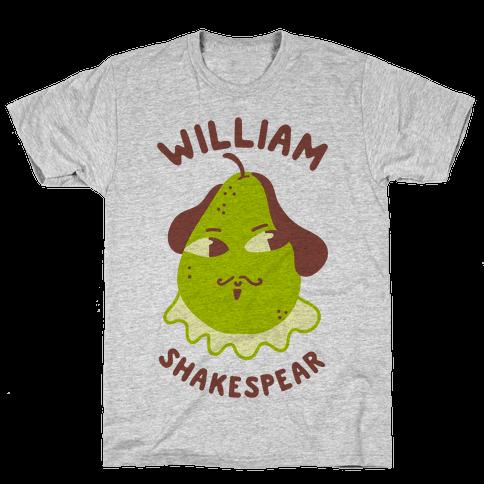 William ShakesPear Mens/Unisex T-Shirt