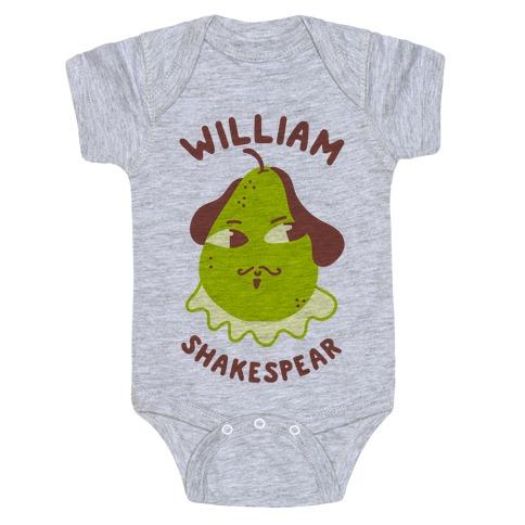 William ShakesPear Baby Onesy