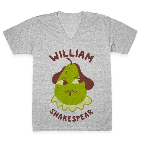 William ShakesPear V-Neck Tee Shirt