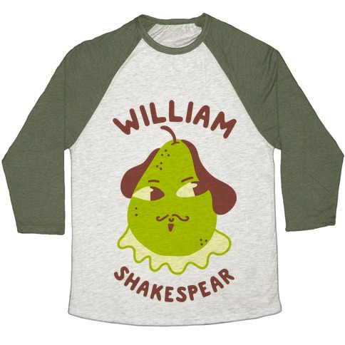 William ShakesPear Baseball Tee