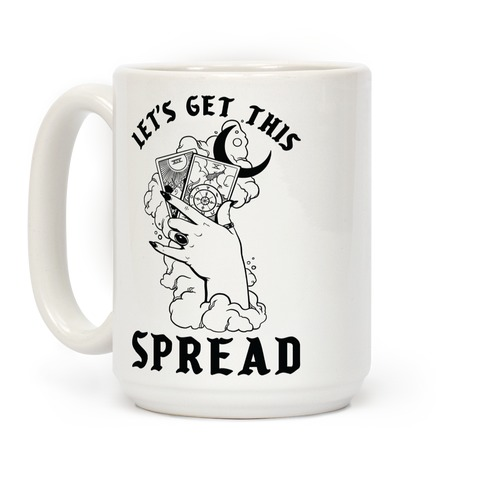 Let's Get This Spread Tarot Coffee Mug