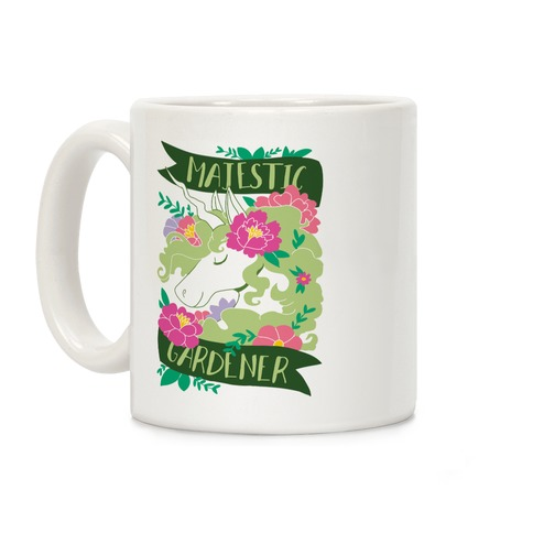 Majestic Gardener Coffee Mug