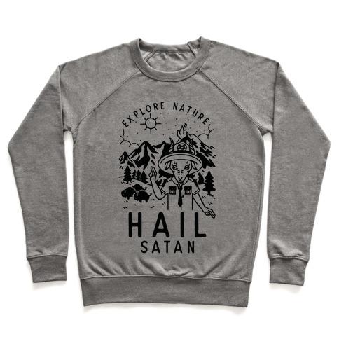 Explore Nature Hail Satan Pullover