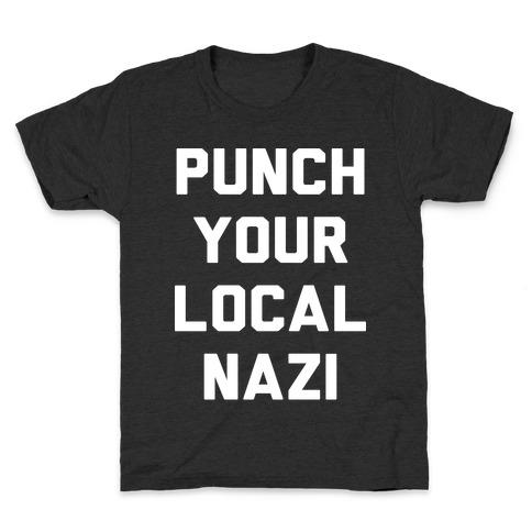 Punch Your Local Nazi Kids T-Shirt