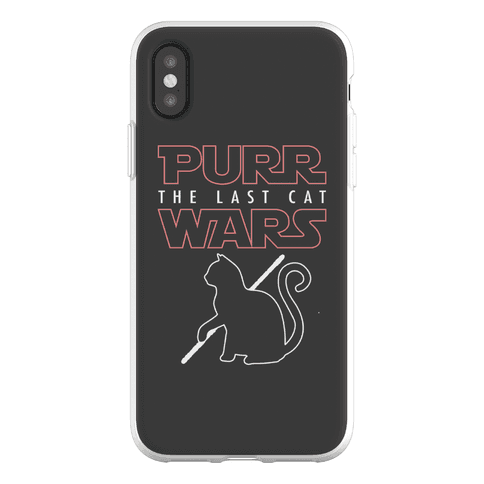 Purr Wars: The Last Cat Phone Flexi-Case