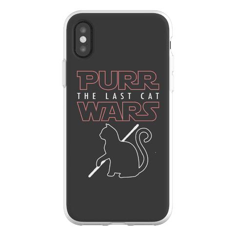 Purr Wars: The Last Cat Phone Flexi-Case