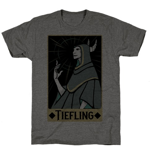 Tiefling - Dungeons and Dragons Mens/Unisex T-Shirt