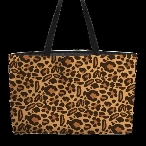 Leopard Print Pattern Weekender Tote