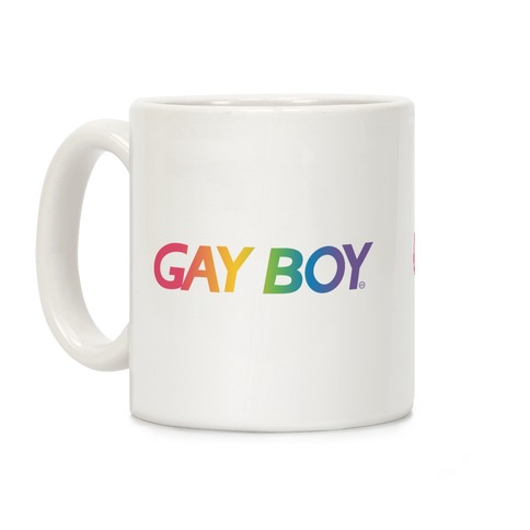 GayBoy Gameboy Parody Coffee Mug