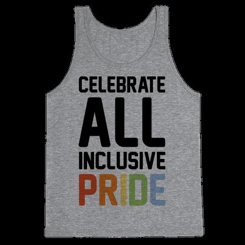 Celebrate All Inclusive Pride Tank Top