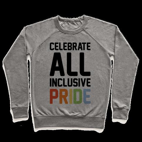Celebrate All Inclusive Pride Pullover