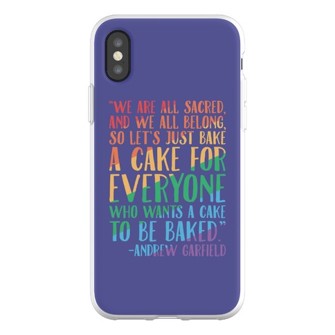 Let's Just Bake A Cake For Everyone Who Wants A Cake To Be Baked Phone Flexi-Case