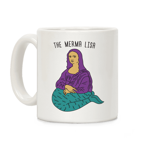 The Merma Lisa Coffee Mug