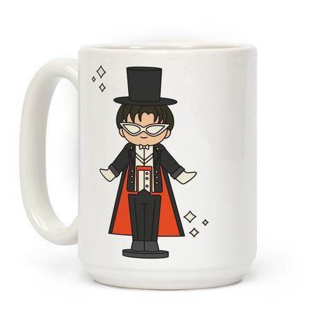 Tuxedo Mask Pocket Parody Coffee Mug