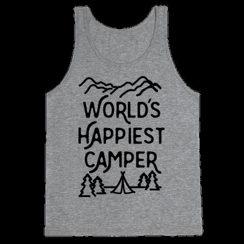 World's Happiest Camper Tank Top