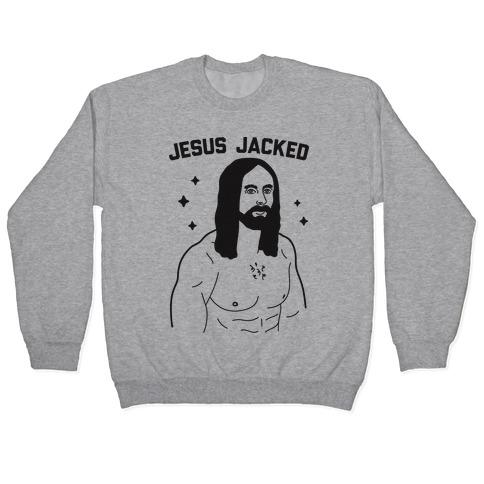 Jesus Jacked Pullover