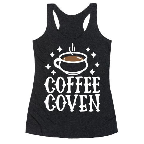 Coffee Coven Racerback Tank Top