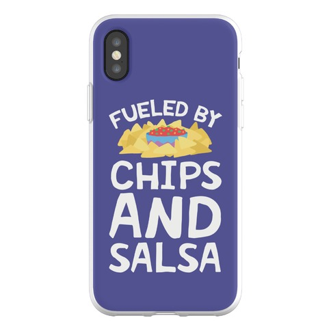 Fueled By Chips And Salsa Phone Flexi-Case