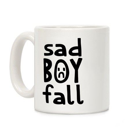 Sad Boy Fall Coffee Mug