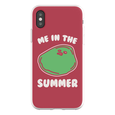 Me In The Summer Phone Flexi-Case