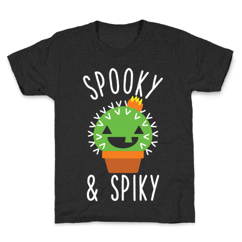Spooky and Spiky Kids T-Shirt